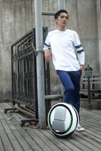 Gyroscopic Electric Unicycle Wheel