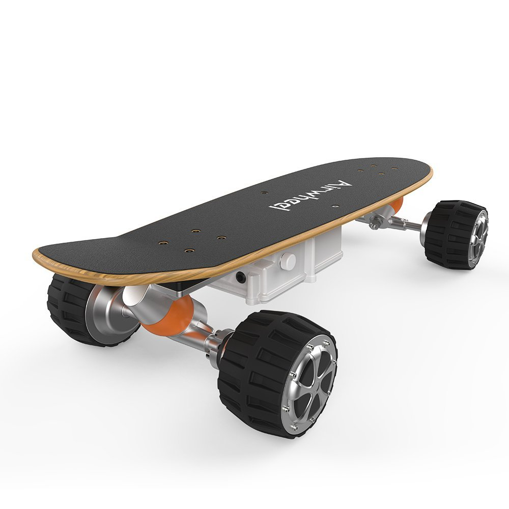 Airwheel battery powered skateboard