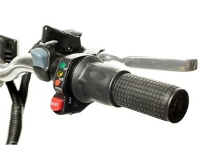 Cyclamatic electric bike controls