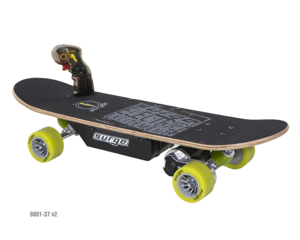 Dynacraft Surge Skateboard and remote