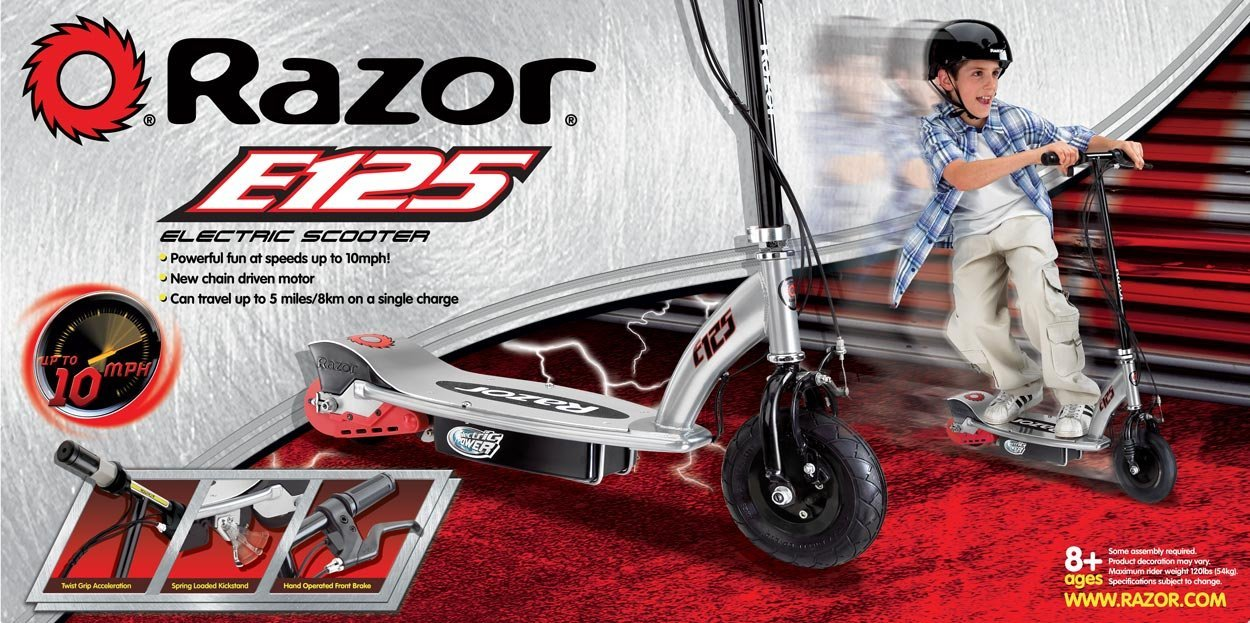 E125 razor electric scooter