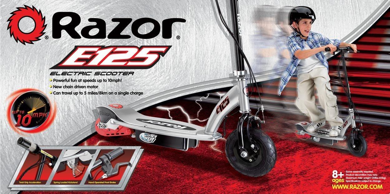 E125 razor electric scooter