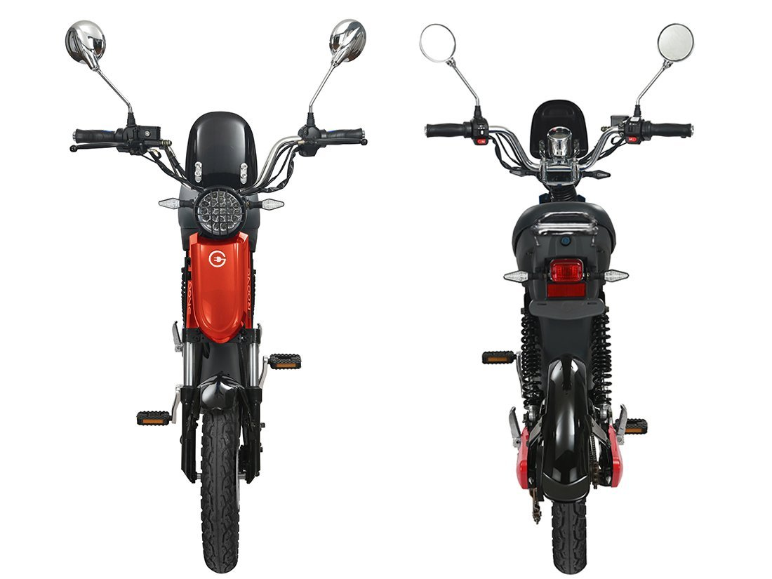 Gigabyke Groove front and rear