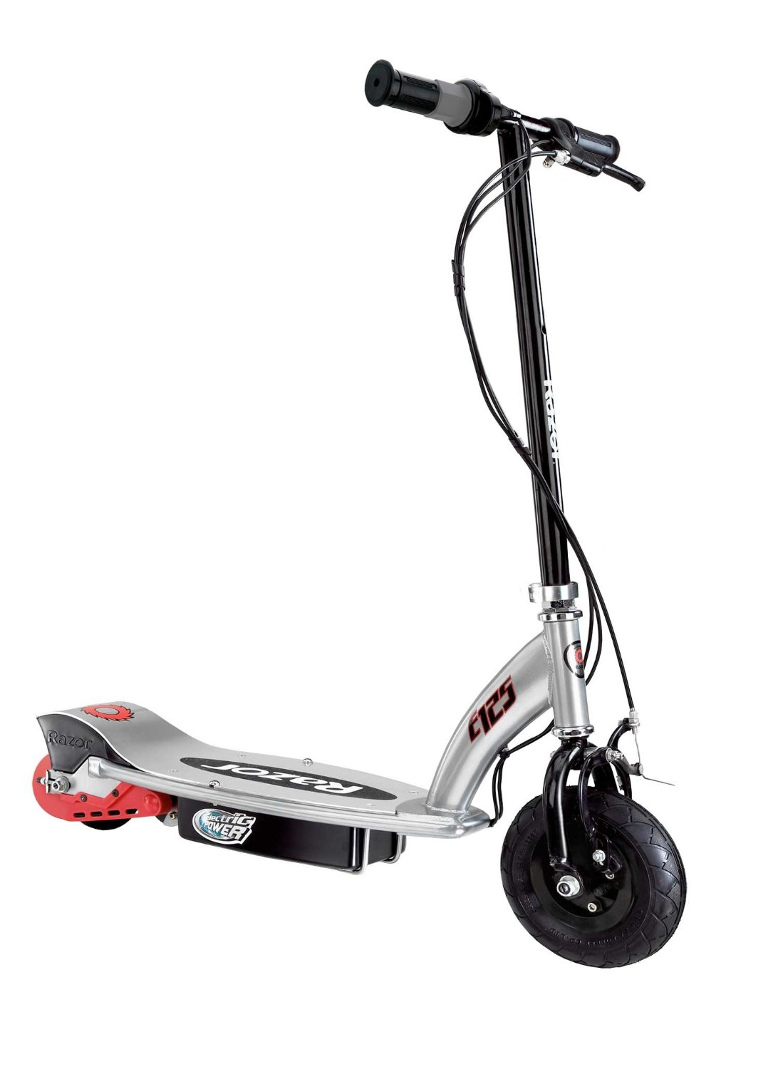 Razor e125 electric scooter review scooter smarter for Motorized scooters for teenager