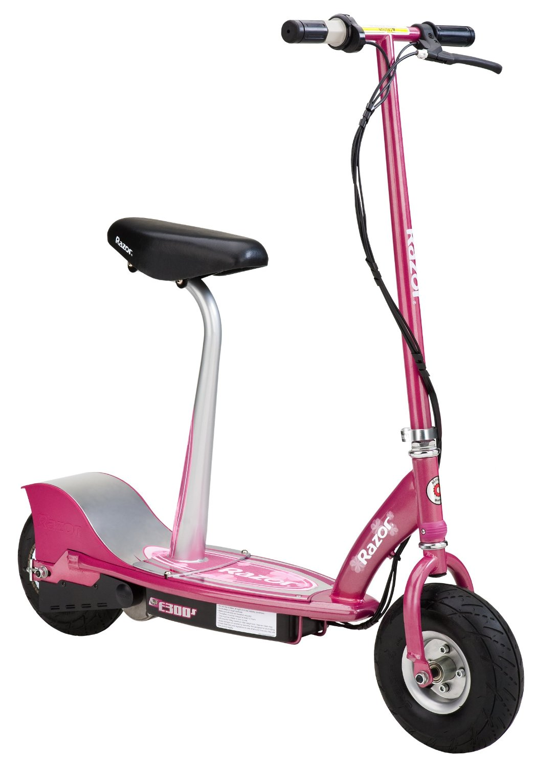 Razor E300S Pink Electric Scooter