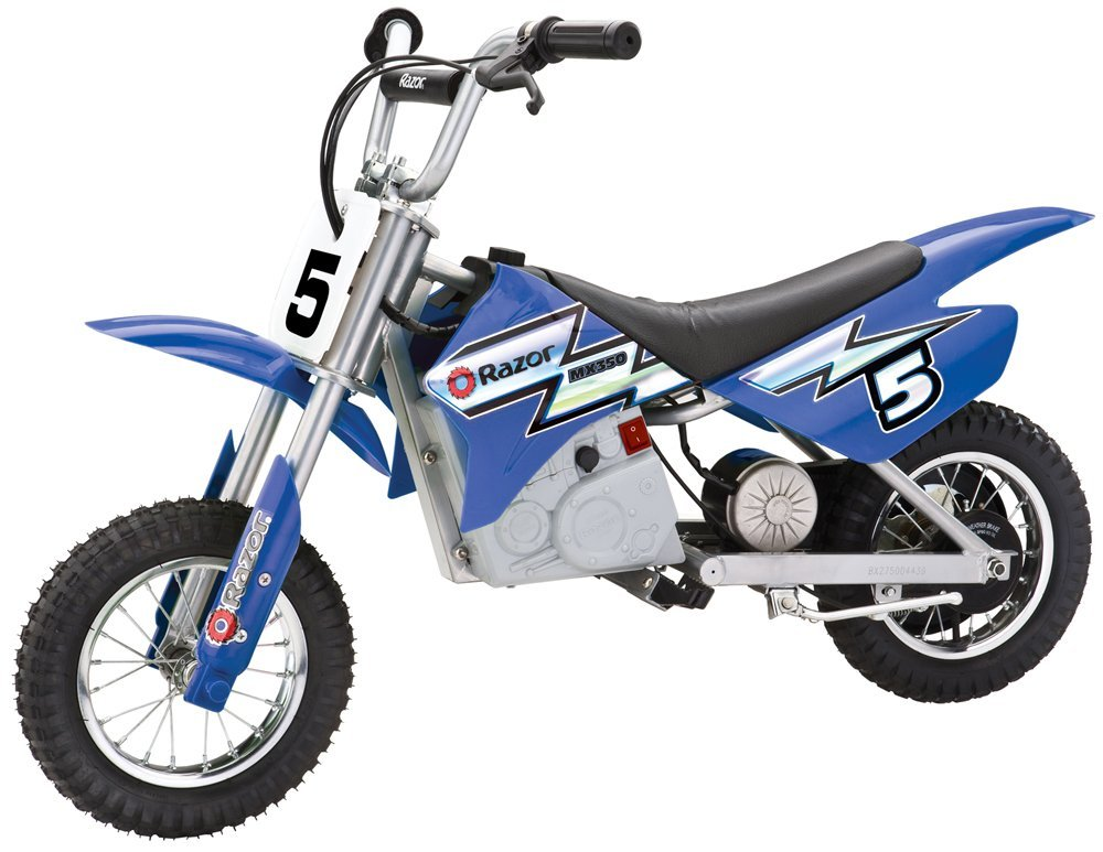 Razor MX350 Blue Electric Bike