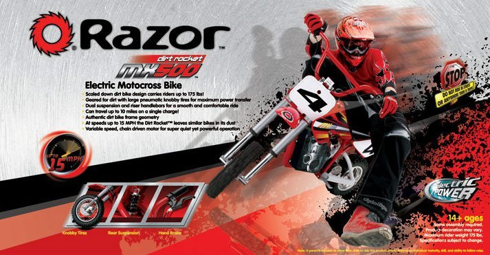 Razor MX500 Display