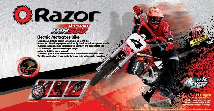 Razor MX500 Display