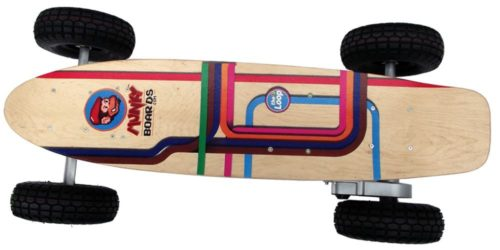 Munkyboard electric skateboard