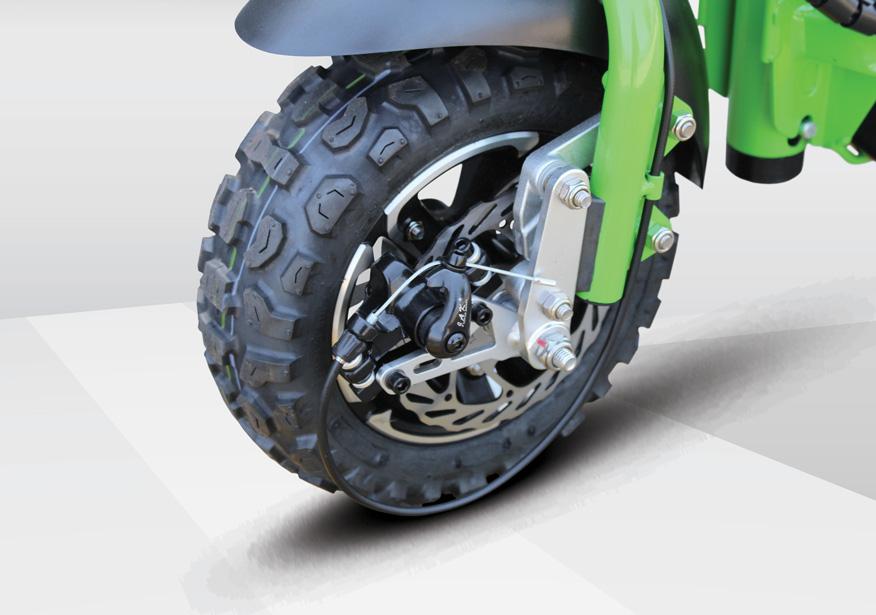 uberscoot 1000w tires
